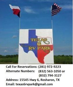 Texas 6 RV Park Logo
