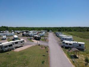 Texas 6 RV Park - Bird's eye view